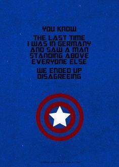 oh captain, my captain! captain america
