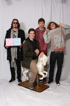 Workaholics.  'Ders looks weird with facial hair.