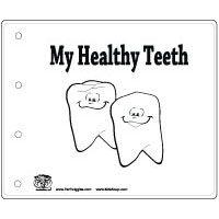 """""""My Healthy Teeth"""" Booklet"""