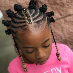 New Braids Hairstyles For Black Women Twist Bantu Knots Ideas # Braids afro bantu knots Bantu Knot Hairstyles, Lil Girl Hairstyles, Black Kids Hairstyles, Natural Hairstyles For Kids, Braided Hairstyles For Black Women, Natural Hair Styles, Short Hair Styles, Teenage Hairstyles, Pretty Hairstyles