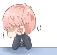 suga fanart - BTS My_love>﹏<  |BANGTAN BOYS  Jin rap monster suga J-hope V Jimin Jungkok *I Love You*
