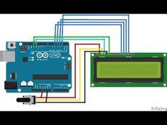 Comment utiliser un afficheur LCD 16x2 avec une carte Arduino - YouTube