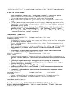 Financial Advisor Resume Example  Resume Examples Sample Resume