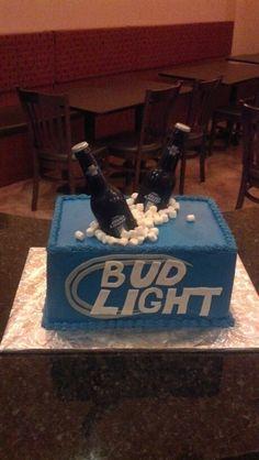 Beer cake - bachelorette