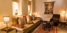 Al Bait Sharjah - A luxury heritage boutique hotel in the heart of cultural hub fo UAE Couch Furniture, City Furniture, Furniture Design, Red Couch Living Room, Sharjah, Living Room Pictures, Contemporary Interior Design, Rooms Home Decor, Commercial Design
