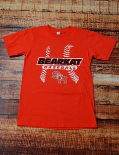 Support your Bearkats in this classic Sam Houston State University Baseball t-shirt!