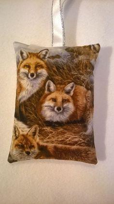 Fox Gift / Fox Fabric Lavender Bag / Fox Birthday Gift - Handmade in Home, Furniture & DIY, Home Decor, Other Home Decor | eBay