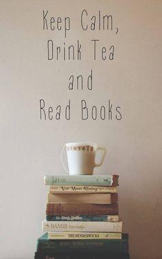 Une tasse de thé et un bon livre ?