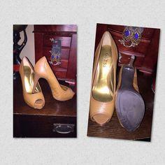Guess Peep-toe Heels Hidden platform. 4.5 inch heel. Guess Shoes Heels