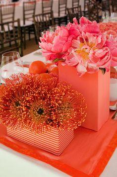 Coral Wedding, Beach Ceremony, Tented Reception || Colin Cowie Weddings