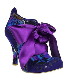 Take a look at this Blue Floral Abigail's Party Bootie by Irregular Choice on #zulily today!