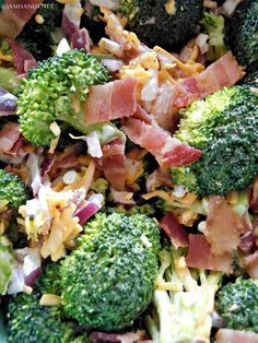 This is probably the most basic broccoli salad at Jam Hands. No seeds, no grapes, no dried cranberries. Just the basics. For my sal...