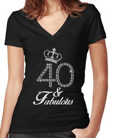 Women/'s Made In 1979 Rhinestone Fitted T Shirt 40th BIRTHDAY all sizes any date