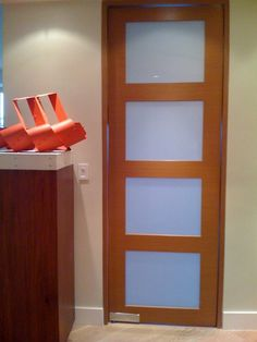 Doors - modern - interior doors - miami - by Infusion Interiors Cool Doors, Swinging Doors, Doorway, Wood Colors, Interior Doors, Modern Interior, French Doors, House Design, Kitchen Ideas
