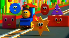 Bob, The Train - Shape Song