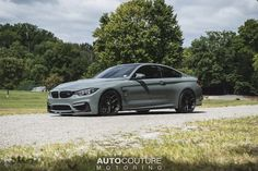 Grigio Medio BMW M4 with HRE R101 in Satin Black
