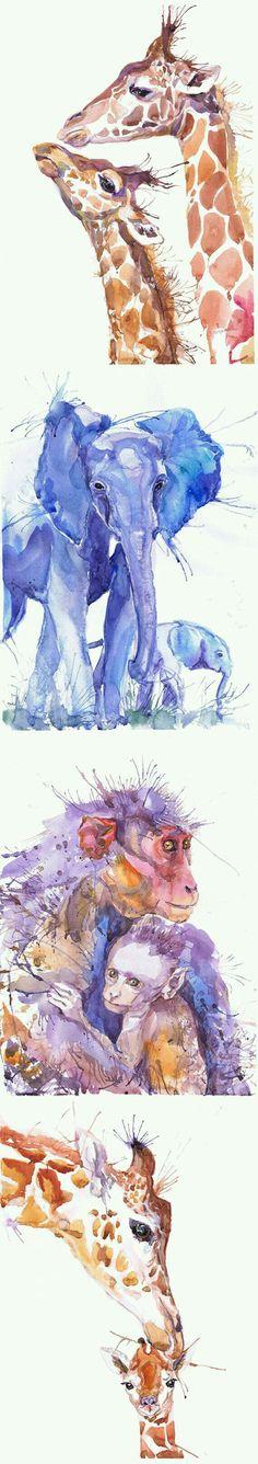 Acuarela de animales