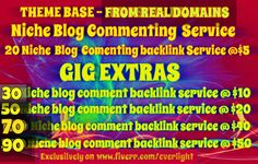 provide relevant and niche based quality backlinks by everlight
