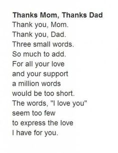 Birthday quotes for mom from daughter poems love you 66 ideas - - Birthday quotes for mom from daughter poems love you 66 ideas Poems for mom Birthday quotes for mom from daughter poems love you 66 ideas Parents Day Quotes, Parents Quotes From Daughter, Thank You Mom Quotes, Anniversary Quotes For Parents, Mom And Dad Quotes, Daughter Poems, Happy Parents, Family Quotes, Anniversary Pictures