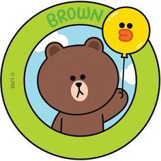 Brown Cony Brown, Brown Line, Mocha Brown, Bear Wallpaper, Love My Husband, Line Friends, Friend Pictures, Cute Drawings, Kawaii Anime