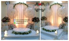 Mini Pelamin Dais English Lace Vintage By Red Ribbon Wedding