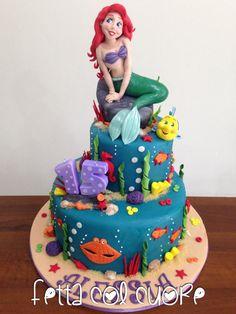 Ariel Cake - Cake by Fetta col cuore
