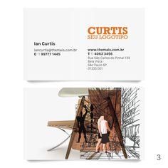 Cartões de visita com design assinado EKDB, papéis especiais exclusivos! Compre online.