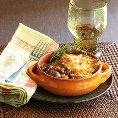 Mushroom Casserole would be a great dish to make for your vegetarian friends.