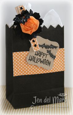 Cute Halloween Package - Love the dolled up clothes pin!