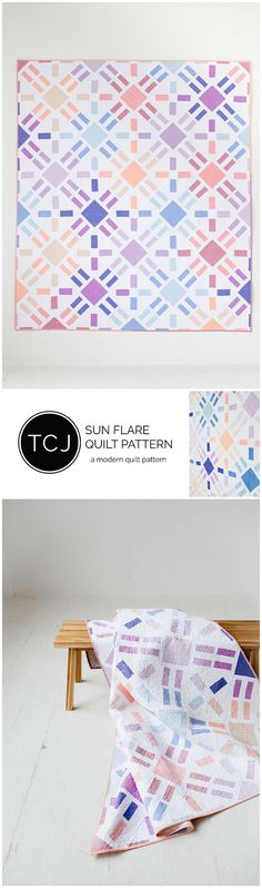 Sun Flare Quilt Pattern out now!