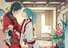 My dear followers! There's going to be an anime for DRAMAtical Murder! I'll post the PV in a sec. Aoba x Koujaku <3 (DRAMAtical Murder)