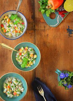 Ceviche de linguado com caju em 30 minutos. Food styling Food photography Produção culinária Produção de objetos Produtora culinarista Fotografia gastronômica