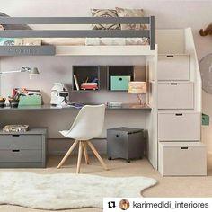 Uma gracinha de espaço pros pequenos #Repost @karimedidi_interiores (@get_repost) ・・・