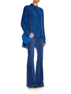 Stella McCartney 70's Flare high-rise jeans