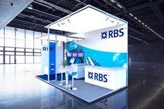 RBS Modular Stand 3D Visualisation on Behance