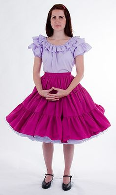 How crazy is it that I'm almost 30 and I REALLY want to make this for myself?  I just love the bright colors and of course the ruffles and petticoat!!!