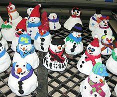 50 Amazing Snowman Craft Ideas Christmas Pinterest Snowman