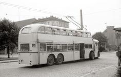 1961 Ost-Berliner O-Bus m Robert-Koch-Platz