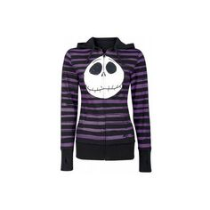 THE NIGHTMARE BEFORE CHRISTMAS - TURNING JACK [FARBE: SCHWARZ]... ❤ liked on Polyvore