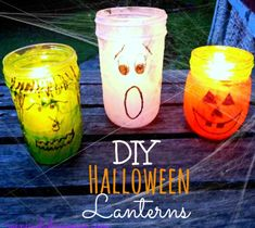 Halloween lanterns are a must have. Halloween is just not complete without them. Of course, when you say lantern you immediately think of pumpkins but thos