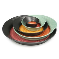 Look what I found at UncommonGoods: eclipse nesting bowls - set of 5...