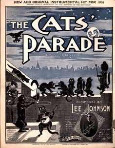 The Cat's Parade sheet music
