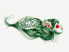 Cirerer by Paula Bonet by The Wallery , via Behance Paula Bonet, Sketch Manga, Portraits, Color Of Life, Life Drawing, Art Pictures, Female Art, Illustrators, Art Drawings