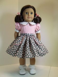 50's Dress for American Girl Doll by agseamstress on Etsy