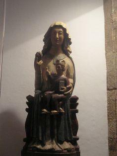 Nuestra Señora de la Coronada. Iglesia de San Martín. Trujillo. Cáceres/ Virgen de los Templarios.
