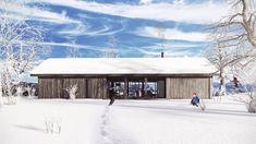 Ole Petter Wullum — LYSTHUS / RINDALSHYTTER Modern Barn House, Home Goods, Oslo, Real Estate, Cabin, House Styles, Fun House, Home Decor, Mountains