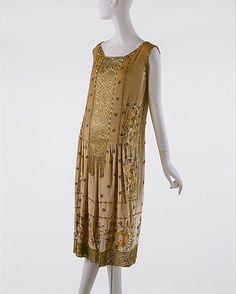 House of Patou evening dress ca. 1925