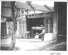 Fruit stall at 473 Bourke St,Surry Hills in Sydney in a flimsy wood structure near the corner of Fitzroy St. Fruit Stall, Surry Hills, Wood Structure, Historical Photos, Sydney, Corner, Australia, History, City