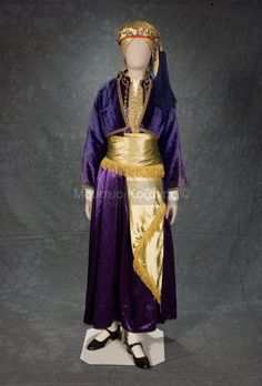 Women's costume from Naousa, Imathia, Macedonia, Greece