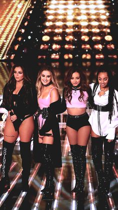 Cheerleader Little Mix were accused of dressing like strippers on The X Factor on Sunday but they have one supporter - Jesy Nelson s future mother-in-law Coleen Nolan Little Mix Outfits, Little Mix Girls, Little Mix Style, Little Mix Fashion, Little Mix Jesy, Little Mix Perrie Edwards, Jesy Nelson, Musica Little Mix, Meninas Do Little Mix